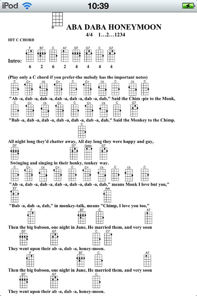 朋友 ukulele 曲谱