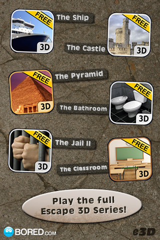 Screenshot Escape 3D: The Factory